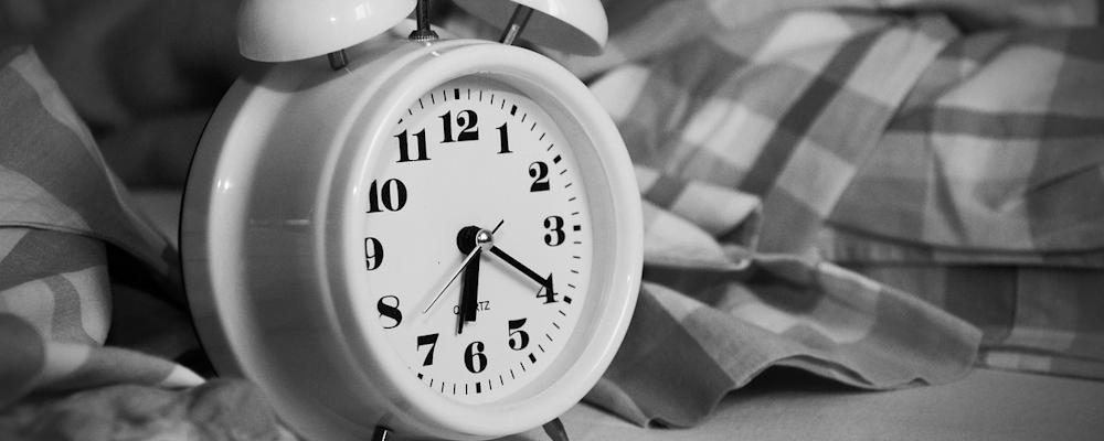 Sömn - Alarmklocka