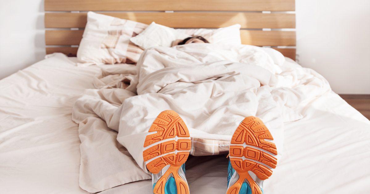 Motion kan vara en källa till stress